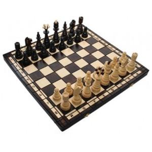 Деревянные шахматы 3114 Christmas Tree, коричневые