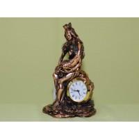 Статуэтка Фортуна с рогом изобилия (часы)