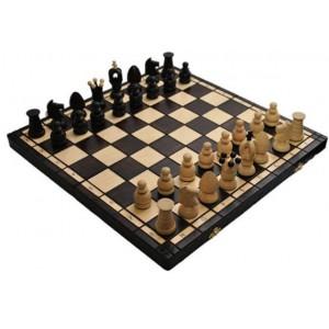 Деревянные шахматы 3111 Large Kings, коричневые