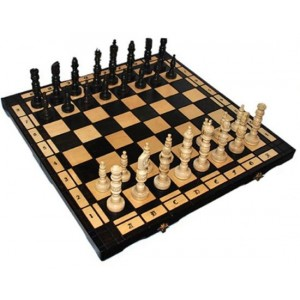Деревянные шахматы 3109 Galant, коричневые