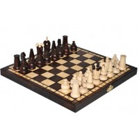 Деревянные шахматы 3152 Royal Mini, коричневые