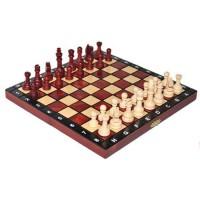 Деревянные шахматы 3154 School, махагон