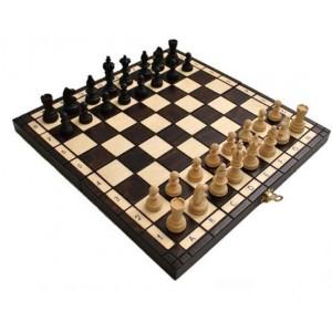 Деревянные шахматы 312201 Olimpic Small, коричневые