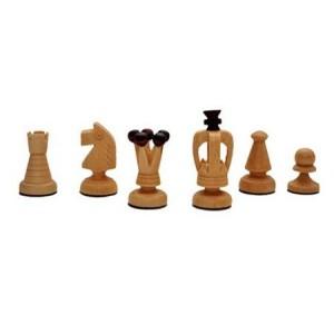 Деревянные шахматы 3112 Medium Kings, коричневые