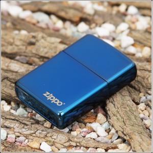 Бензиновая зажигалка Zippo 20446ZL SAPPHIRE with zippo logo