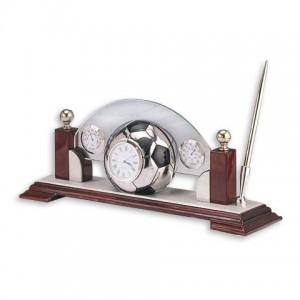 Набор настольный футбол (часы, барометр, гигрометр, ручка)