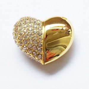 Ювелирная флешка в форме сердечка