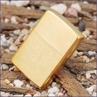 Бензиновая зажигалка Zippo 207G CLASSIC gold dust
