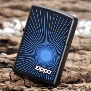 Бензиновая зажигалка Zippo 24150 STARBURST BLUE