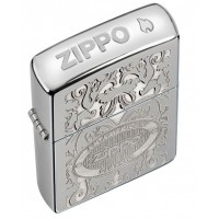 Бензиновая зажигалка Zippo 24751 GLEAMING PATINA HIGH POLISH CHROME