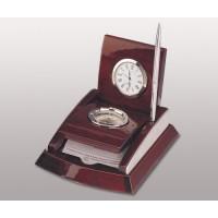 Набор настольный (часы, компас, ручка)