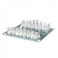 Шахматы стекло средн
