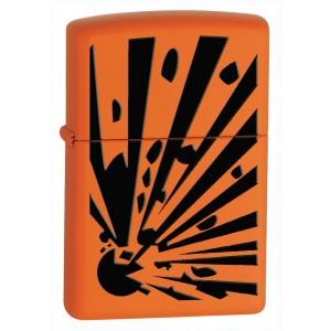 Бензиновая зажигалка Zippo 28142 Orange Explosion Orange Matte