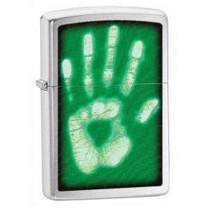 Бензиновая зажигалка Zippo 28283 Identity Hand Print