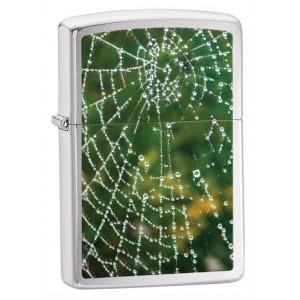 Бензиновая зажигалка Zippo 28285 Spider Web Rain Drops