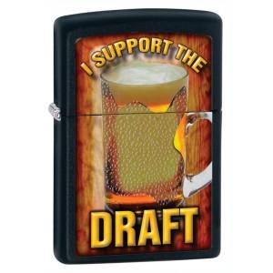 Бензиновая зажигалка Zippo 28294 I Support the Draft