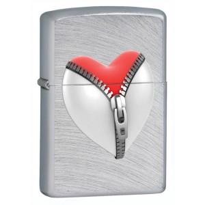 Бензиновая зажигалка Zippo 28327 Zip Heart