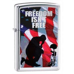 Бензиновая зажигалка Zippo 28336 Freedom Isnt Free