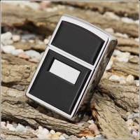 Бензиновая зажигалка Zippo 355 CLASSIC ultralite black emblem