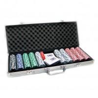Набор для игры в покер на 500 фишек