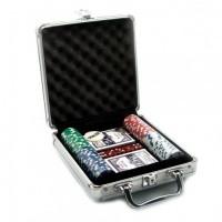 Набор для игры в покер на 100 фишек