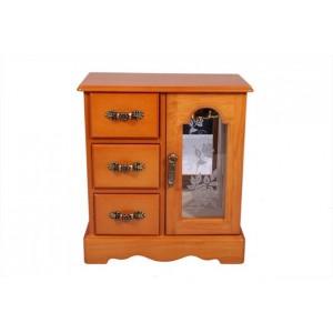 Шкатулка - шкафчик из дерева для украшений «Изольда»