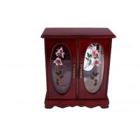 Шкатулка - шкафчик из дерева для украшений «Ариана»