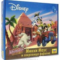 Настольная игра Микки Маус. Сокровища фараона