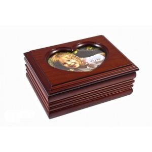 Деревянная шкатулка для украшений «Аврора»