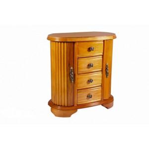 Деревянная шкатулка - шкафчик для украшений «Анфиса»
