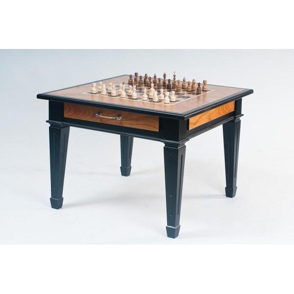 Браслет из кожи Шахматный