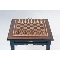 Элитные шахматы + нарды. Стол трансформер. Массив ясеня.