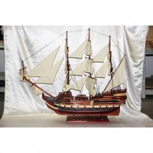 Деревянная модель парусника 110см-100