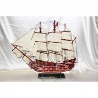 Деревянная модель парусника 85см- 85