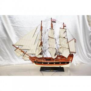 Деревянная модель парусника 90см-800