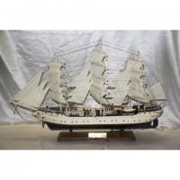 Деревянная модель парусника 80см- FA