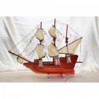 Деревянная модель корабля 80см- HD