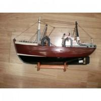 Деревянная модель корабля 45см- F0