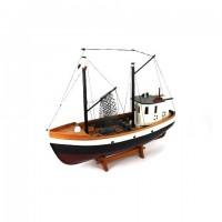 Деревянная модель корабля 46см- 01
