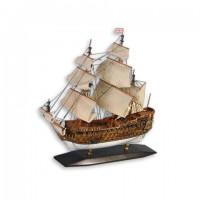 Деревянная модель корабля 45см-С08
