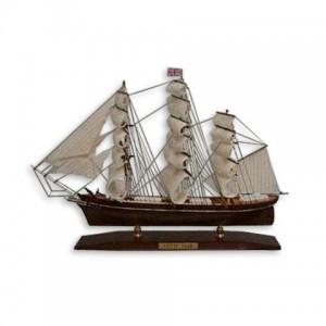 Модель корабля из дерева 45см-С21