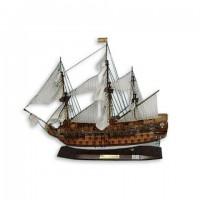 Модель корабля из дерева 45см-С22