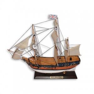 Корабль дерево 30см-С20