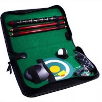 Набор для гольфа в компактном кожаном кейсе