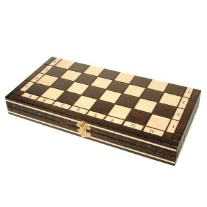 Шахматы PEARL Small, коричневые