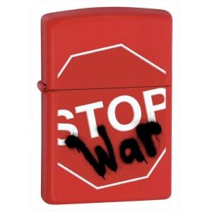 Бензиновая зажигалка Zippo 28140 Stop War Lighter