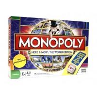Настольная игра Монополія. Всесвітня (Monopoly Here & Now: The World Edition)