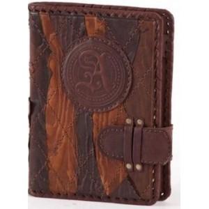 Блокнот (ежедневник), кожаная обложка