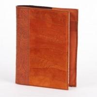 Блокнот (ежедневник) с обложкой из кожи