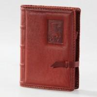 Ежедневник (блокнот) с обложкой из кожи